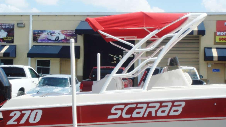 Custom Radar Arches & Wakeboard
